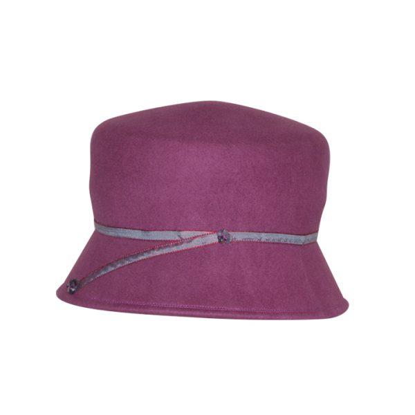 Mulberry designer bucket felt hat